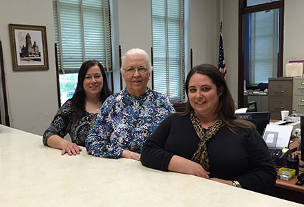 County Clerks Office Staff